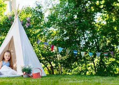 Doprajte vašim deťom poriadnu zábavu na záhrade