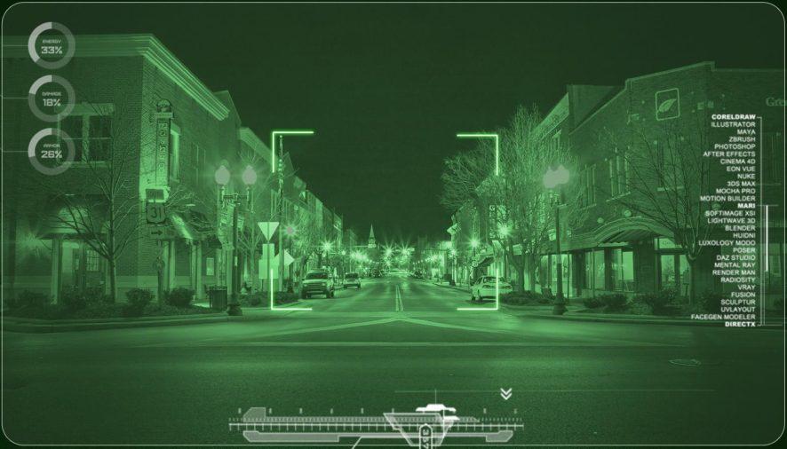 Nočné videnie spoľahlivo odhalí čo je ukryté v tme
